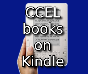 CCEL books on Kindle